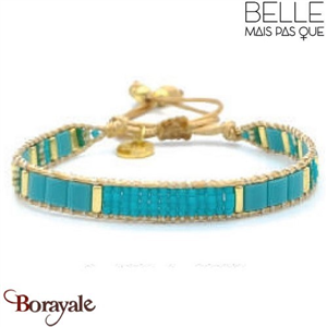 "Bracelet ""Belle mais pas que"" Collection Gold Bora Bora B-1017-GBB"