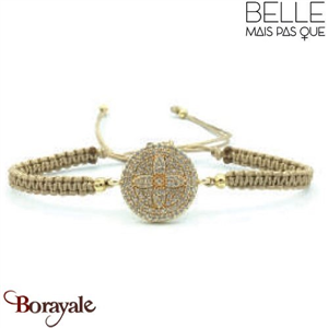"Bracelet ""Belle mais pas que"" collection Golden Summer B-1200-GSU"