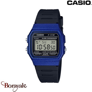 Montre CASIO Vintage collection F-91WM-2AEF