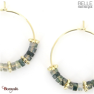 Boucles d'oreilles -Belle mais pas que- collection Mila BO1 MILA2-BO1
