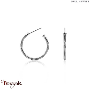 Boucles d'oreilles PAUL HEWITT collection Anchor PH-ER-ROH-S