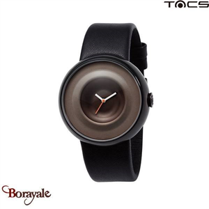 Montre  TACS Drop Unisexe Noir - Orange