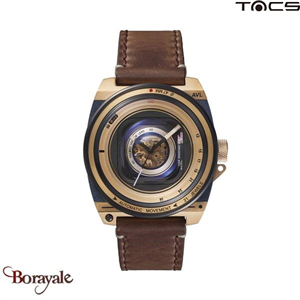 Montre  TACS AVL II Homme Gold Marron