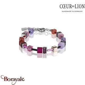 Nuance : 0325, Bracelet Cœur de lion with SWAROVSKI Elements bijoux