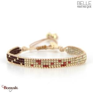 bracelet -Belle mais pas que- collection Rusty gold B-1541-RUSTY