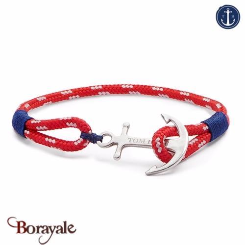 bracelet ancre de marine tom hope arctic blue l. Black Bedroom Furniture Sets. Home Design Ideas