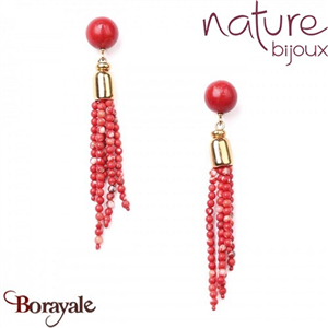 Collection Iguazu, Boucles d'oreilles NATURE 12--76186