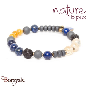 Collection Blue Tribe, Bracelet Nature Bijoux 13--31607