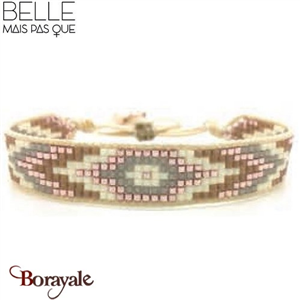 """Bracelet """"Belle mais pas que"""" Collection Sweet Galactic grey B-445-SSG"""