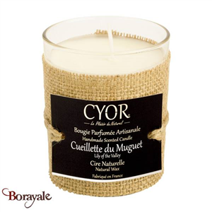 Bougie Parfumée CYOR Cueillette du Muguet: Made in France