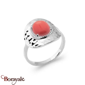 Argent 925° : Bague Collection Cornaline