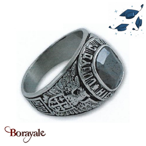 Bague universitaire américaine Lloyd C. Bird High School