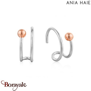Out Of This World, Boucles d'oreilles Argent - plaqué Or rose ANIA HAIE E001-03T