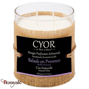 Grande Bougie Parfumée CYOR Balade en Provence: Made in France