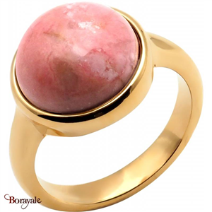 Bague Rhodonite, Collection: Cabochon YOLA Taille 56