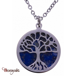Collier lapis lazuli, Collection: Arbre de vie YOLA