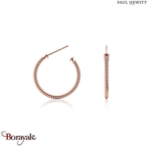 Boucles d'oreilles PAUL HEWITT collection Anchor PH-ER-ROH-R