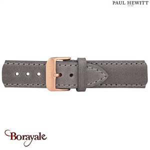 Bracelet de montre cuir PAUL HEWITT collection Signature PH-M1-R-13S