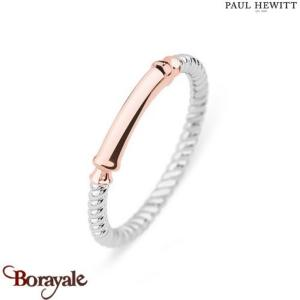 Bague Starboard Acier & IP Rose - Taille 52  PAUL HEWITT Collection Starboard PH
