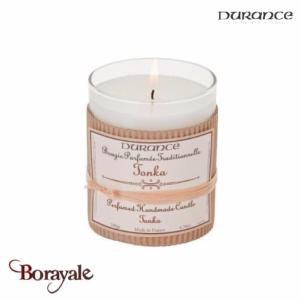 Bougie traditionnelle DURANCE 180g Tonka