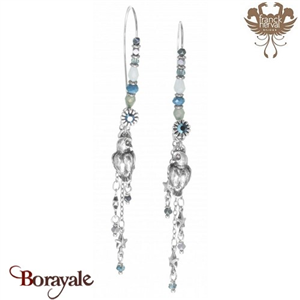 Collection Louna, Boucles d'oreilles Franck HERVAL Bijoux 12--63013