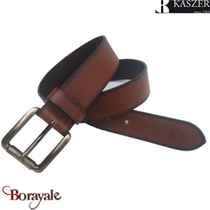 Ceinture KASZER collection Indiana en cuir de buffle 577404-C6