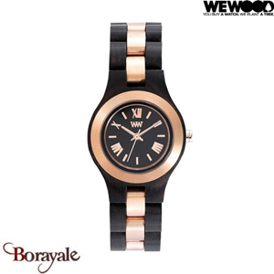 Montre en bois WEWOOD CRISS ME Black Rose 70233-313
