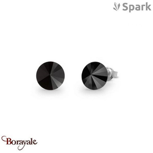 Boucles d'oreilles SPARK collection Candy made with Swarovski Elements A129N
