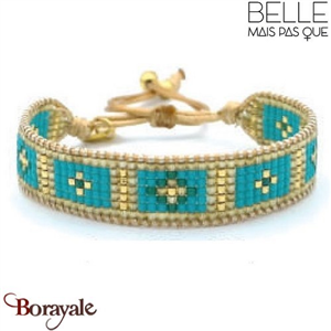 "Bracelet ""Belle mais pas que"" Collection Gold Bora Bora B-1175-GBB"