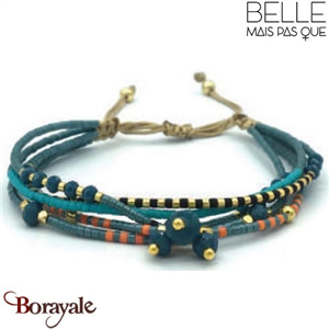 "Bracelet ""Belle mais pas que"" collection Golden Summer B-973-GSU"
