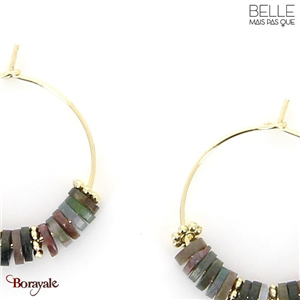 Boucles d'oreilles -Belle mais pas que- collection NoaMay BO10 NOAMAY-BO10
