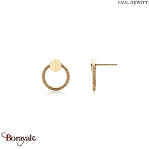 Boucles d'oreilles PAUL HEWITT collection Anchor PH-ER-RO-G