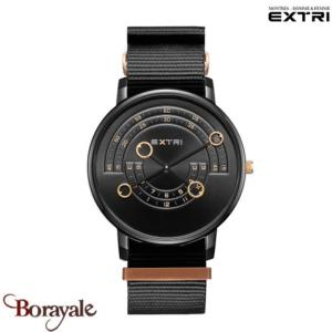 Montre EXTRI City Homme X3016BBNR01