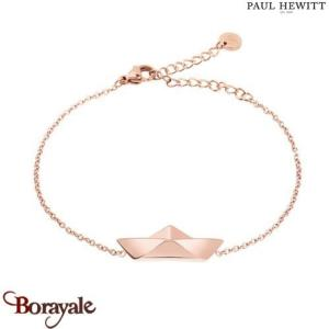 Bracelet Acier IP Rose  PAUL HEWITT Collection Ahoy PH-B-PB-R