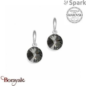 Boucles d'oreilles SPARK collection Candy made with Swarovski Elements A126GR