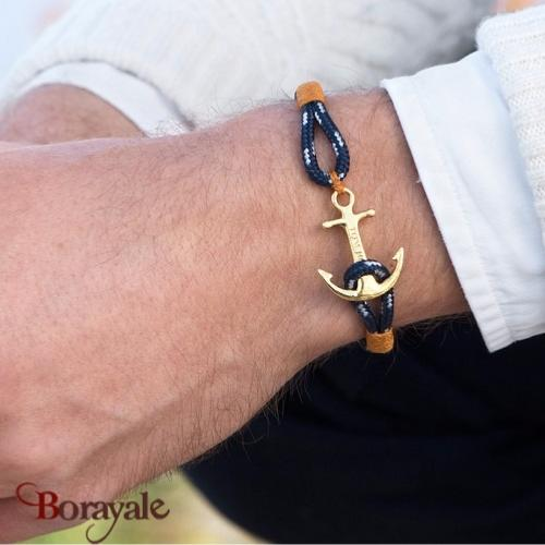 Bracelet ancre de marine tom hope 24k one s