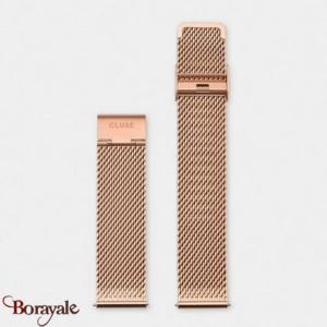 Bracelet montre Cluse Mesh Rose Gold 20 mm CS1401101063