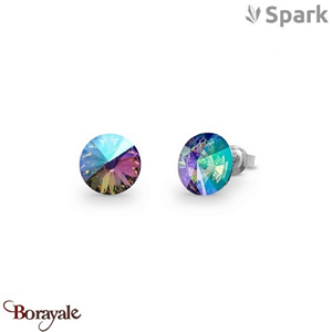 Boucles d'oreilles SPARK collection Candy made with Swarovski Elements A129PS