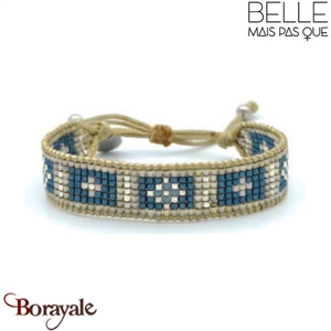 "Bracelet ""Belle mais pas que"" collection Rock Bohème B-1175-RB"