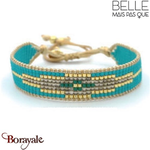 "Bracelet ""Belle mais pas que"" Collection Gold Bora Bora B-1357-GBB"
