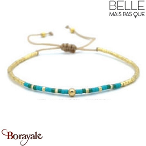 "Bracelet ""Belle mais pas que"" Collection Gold Bora Bora B-1362-GBB"
