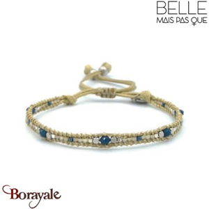 "Bracelet ""Belle mais pas que"" collection Rock Bohème B-989-RB"