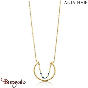 Connect The Dots, Collier Argent Plaqué OR ANIA HAIE N006-03G