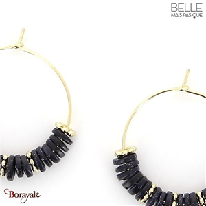 Boucles d'oreilles -Belle mais pas que- collection NoaMay BO8 NOAMAY-BO8