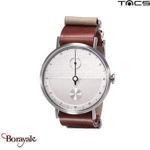 Montre  TACS Day & Night Unisexe Gris
