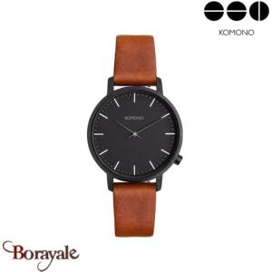 Montre KOMONO Collection HARLOW COGNAC KOM-W4112