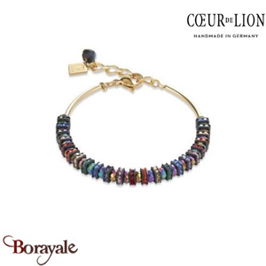 Nuance : 1500, Bracelet Cœur de lion with SWAROVSKI Elements bijoux