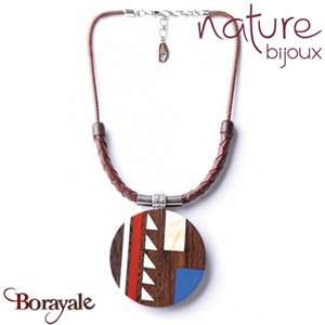 Collection Inlay, Collier Nature bijoux 15--26941
