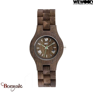 Montre en bois WEWOOD CRISS Mandala Choco rough 70210-521