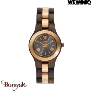 Montre en bois WEWOOD CRISS ME Choco rough 70233-520